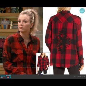 Rails Larson Embroidered Flannel Shirt